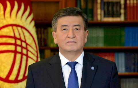 Kyrgyz President expresses condolences in connection with victims of floods in Japan