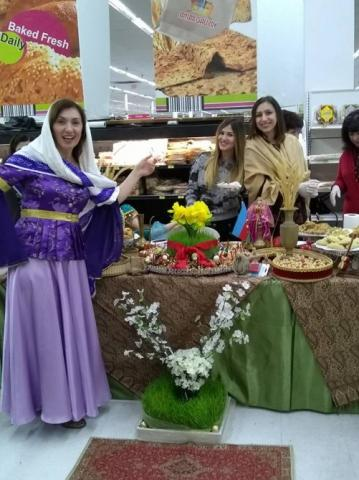Azerbaijani Novruz culinary traditions introduced in California