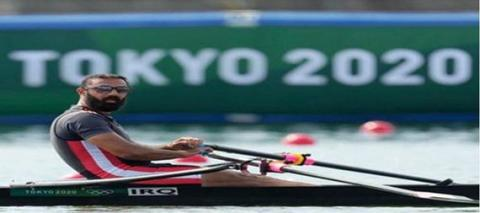 Tomorrow... Iraqi Rower Muhammad Riyad Is On A Date With The Olympic Quarter-Finals