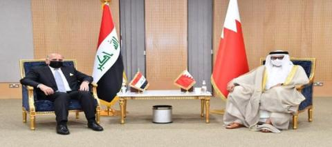 Foreign Minister Affirms Iraq's Aspiration To Raise The Pace Of Bilateral Cooperation With Bahrain At Various Levels