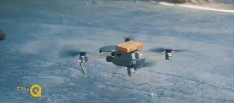 For The First Time ... Basra Retirement Directorate Sends MasterCard By Drone To Retirees' Homes