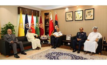 Public Security Chief receives Supreme Council for Environment CEO