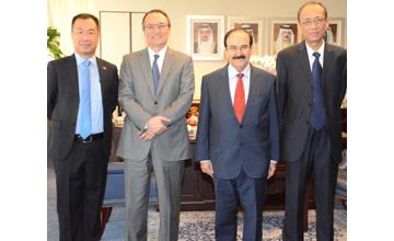 Electricity Minister receives Chinese ambassador