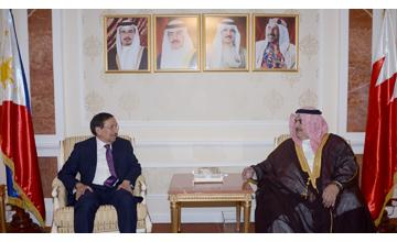 Foreign Minister receives Philippines President's Special Envoy