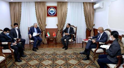 First Deputy Foreign Minister of the Kyrgyz Republic and Iranian Ambassador discussed cooperation issues