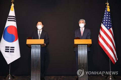 U.S., S. Korea to continue discussing end-of-war declaration, other options for N. Korea diplomacy: Washington envoy