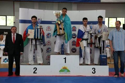 Azerbaijani karate fighter wins silver at Varna Cup in Bulgaria