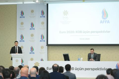Azerbaijan's Agency for Development of SMEs to support entrepreneurs at UEFA EURO 2020