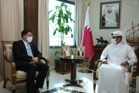 Minister of State for Energy Affairs Meets First Vice Minister of Foreign Affairs in the Republic of Korea