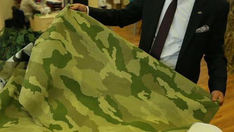 Turkey-made disguise fabric to sell globally