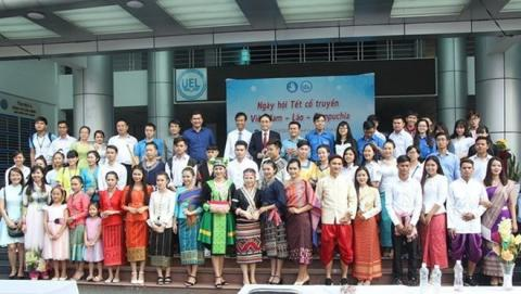 Traditional new year festivals of Laos, Cambodia marked in HCM City