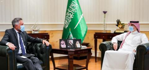 President of Human Rights Commission Discusses Aspects of Cooperation with Ambassador of EU Delegation to Saudi Arabia