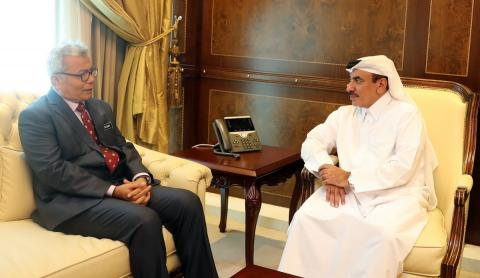 Transport and Communications Minister Meets Malaysia Entrepreneur Development Minister