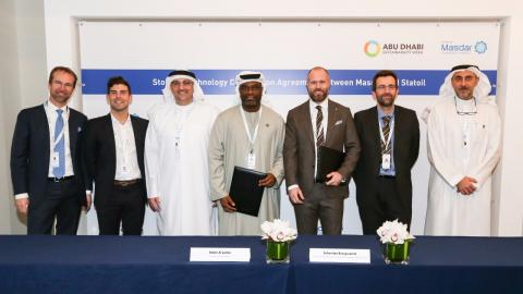 Masdar and Statoil to explore potential of battery storage solution at Hywind Scotland