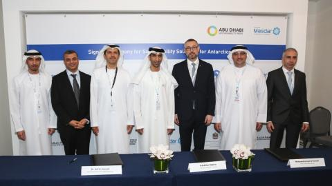 Masdar, Khalifa University to research sea ice and energy efficiency in Antarctica