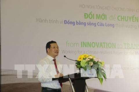 Programme helps raise Mekong Delta's resilience to climate change effects