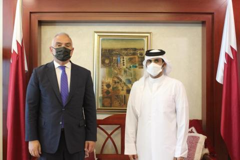 Qatar's Minister of Culture Meets Turkish Counterpart