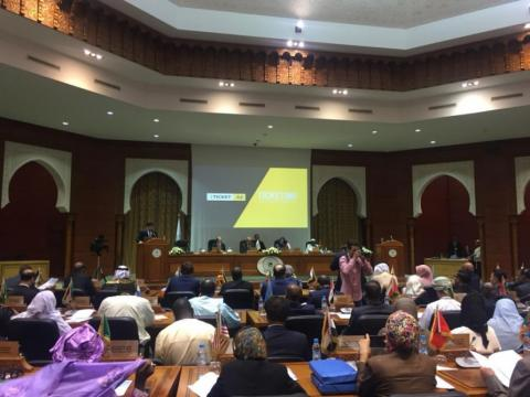 iTicket.az presented at 13th session of ISESCO General Conference in Morocco