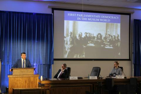 Azerbaijan's multiculturalism discussed at International Law and Religion Symposium in U.S.