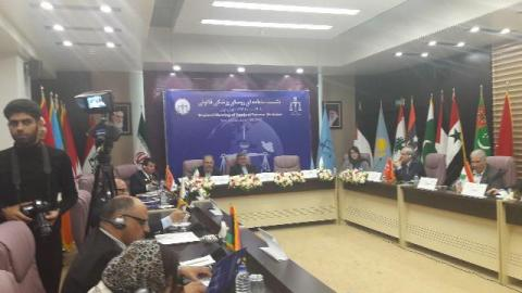 Islamic countries legal medicine organizations chiefs in Tehran