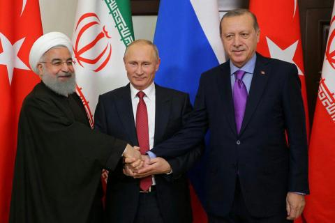 Russian official: Iran, Russia,Turkey leaders likely to meet