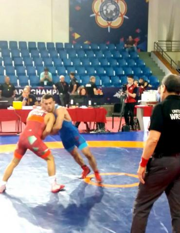 Naghizade wins Azerbaijan`s first gold at World Military Wrestling Championship