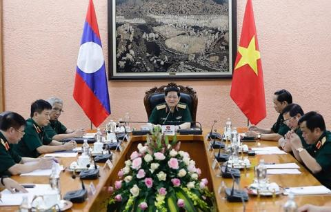 Vietnam, Laos seek to further boost defence cooperation