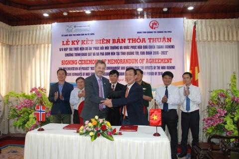 Norway helps Vietnam's Quang Tri tackle consequences of bombs, mines