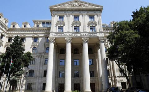 Foreign Ministry: French MP's name is on the list of foreign nationals banned from entering Azerbaijan for violating the laws of the country