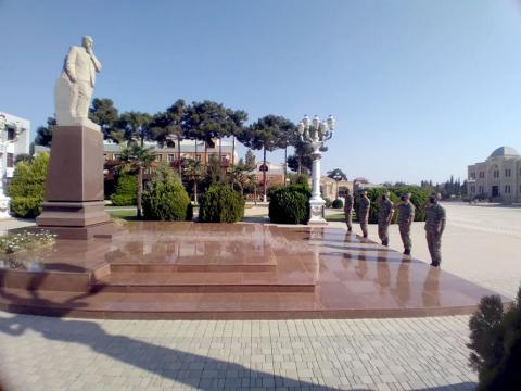 Azerbaijani Army holds series of events on 103rd anniversary of liberation of Baku