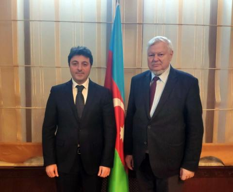 Head of Azerbaijani community of Nagorno-Karabakh region of Azerbaijan meets with personal representative of OSCE chairperson-in-office