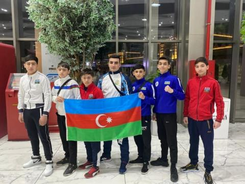 Junior Azerbaijani savate fighters bring home 10 medals from Tbilisi