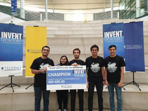 Students of Baku Higher Oil School win international innovation competition in Malaysia