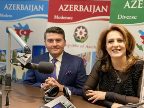 Azerbaijan's Consul General in Los Angeles interviewed by Iranian-American Radio
