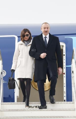 President Ilham Aliyev arrived in Italy for state visit