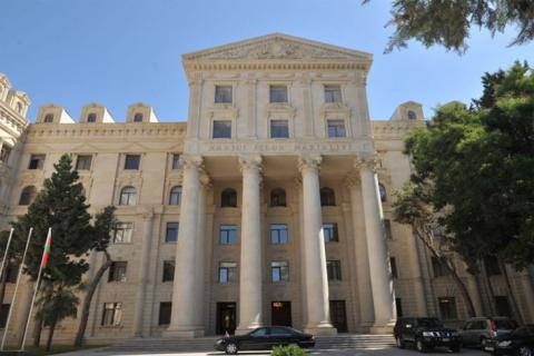 "Foreign Ministry: Holding ""elections"" in the occupied territories of Azerbaijan have no legal effect"