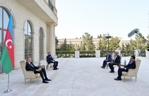 President Ilham Aliyev: Azerbaijan-Iran bilateral relations are developing fast and have reached a high level