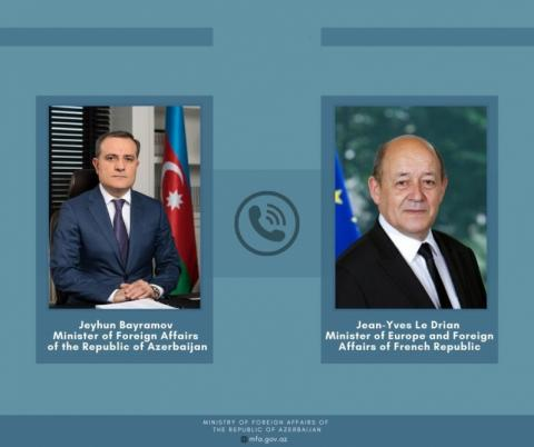 Azerbaijan, France discuss current state of bilateral relations