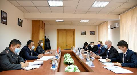 Kyrgyz Interior Ministry, OSCE debate joint projects