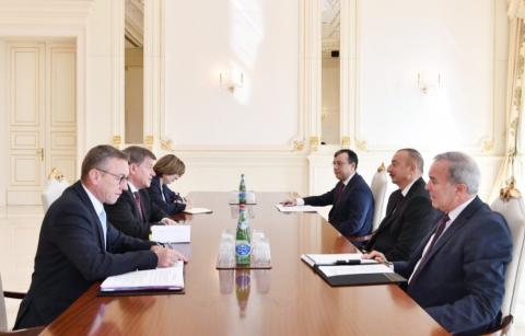 President Ilham Aliyev received delegation led by ILO Director-General