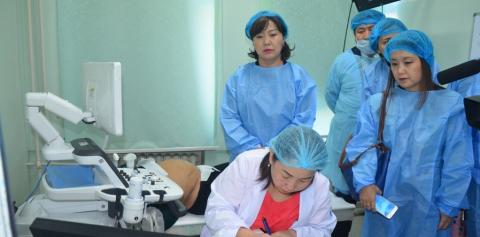 HEALTH MINISTER WORKS IN TUV AIMAG