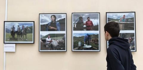MONGOLIAN COUNTRY LIFESTYLE ON DISPLAY IN MOSCOW