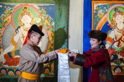 WHITE TARA EXHIBITION OPENS AT BOGD KHAAN PALACE MUSEUM