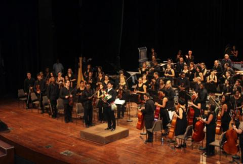 B.LKHAGVASUREN CONDUCTS NATIONAL SYMPHONY ORCHESTRA OF CUBA