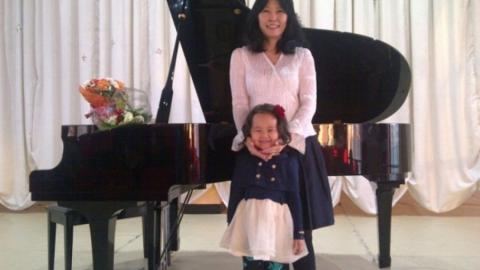 YOUNG PIANISTS RECEIVE THEIR AWARDS