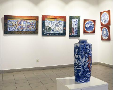 WORKS OF MONGOLIAN ARTIST PRESENTED AT CZECH MUSEUM