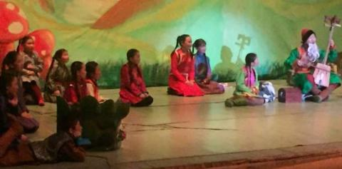 MONGOLIA'S FIRST OPERA FOR CHILDREN RE-STAGED