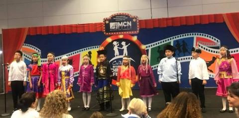 MONGOLIAN EMBASSY PARTICIPATES IN THE INTERNATIONAL CHILDREN'S FESTIVAL
