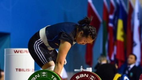 E.BILEGSAIKHAN CLAIMS TWO MEDALS IN ASIAN YOUTH AND JUNIOR WEIGHTLIFTING CHAMPIONSHIP