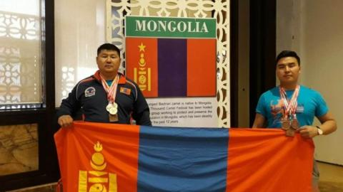 MONGOLIAN ATHLETES CLAIM GOLD AND BRONZE MEDALS IN ASIAN POWERLIFTING CHAMPIONSHIPS 2018